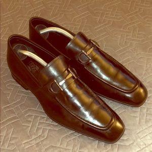 Salvatore Ferragamo black loafers. Size 9.5